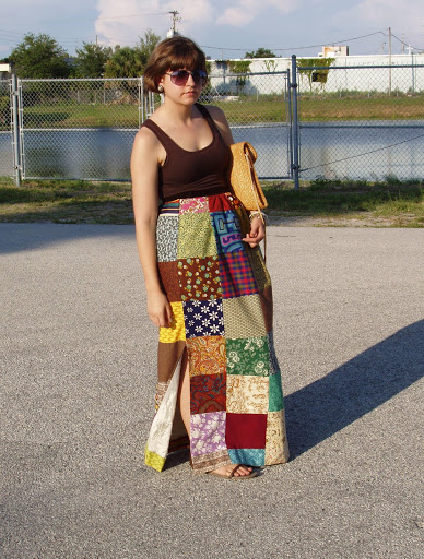 Patchwork Skirt of Awesome-ness
